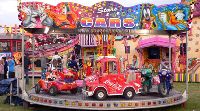 Stars & Cars Childrens Fairground Ride