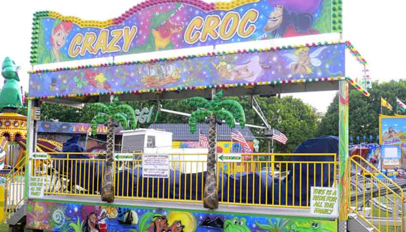 Childrens roller coaster hire.